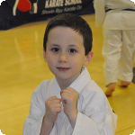 Eli's Achieves Yellow Belt